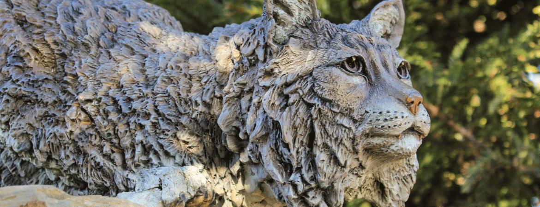 UC Merced Bobcat Sculpture